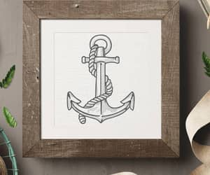 anchor, crab, and etsy image
