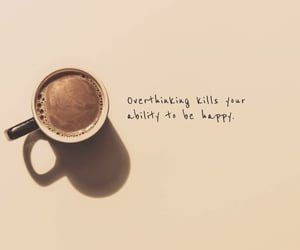 coffee, happy, and quote image
