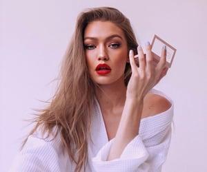 gigi hadid, model, and Maybelline image
