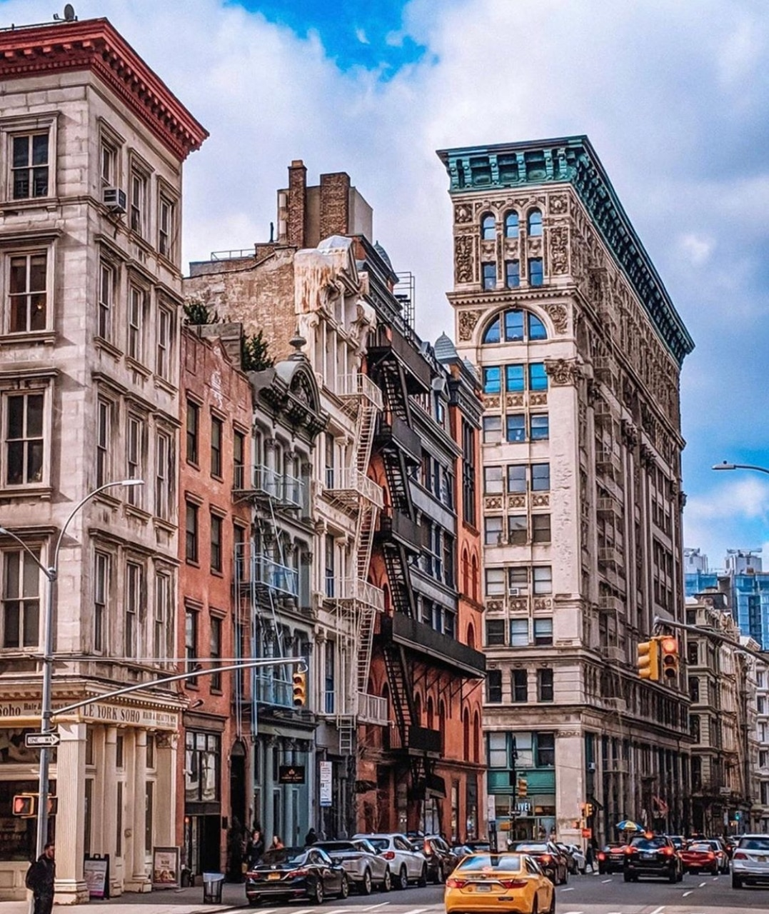 architecture, city, and new york image