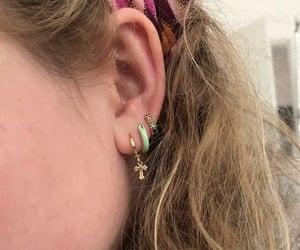 aesthetics, earring, and earrings image