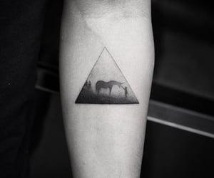 art, dark, and tattoo image
