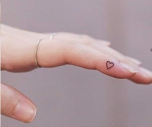 delicate, rings, and tatuajes image