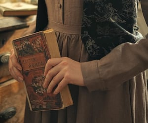 book, little women, and jo march image