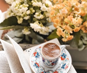 coffee, good morning, and صباح الخير image