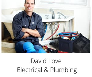 electrician, electrical, and plumber image
