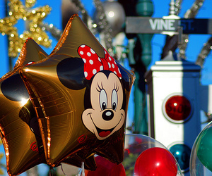disney, photography, and balloons image