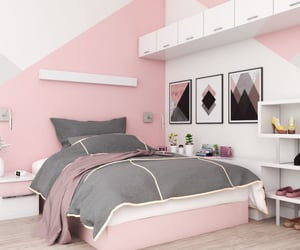 girly bedroom, pink bedroom, and bedroom ideas image