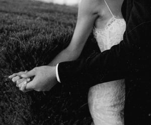 ceremony, dress, and marriage image