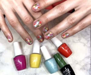 cancun, opi, and gel manicure image