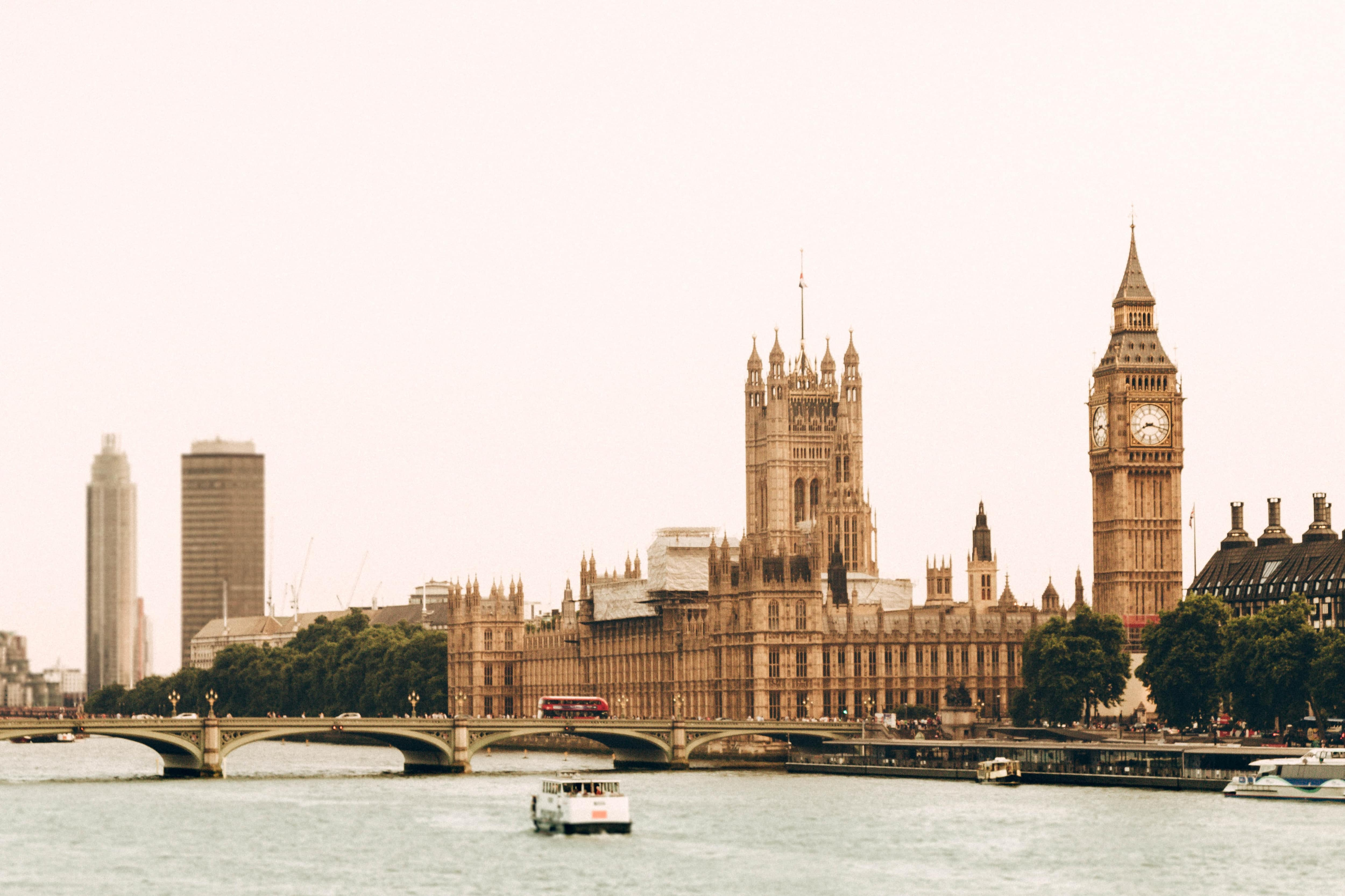 article, Buckingham palace, and houses of parliament image