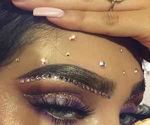 diamonds, glitter, and rings image