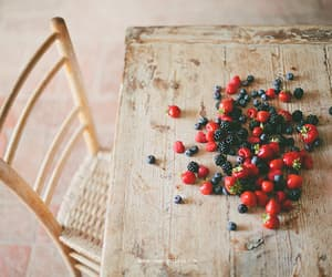 fruit, vintage, and berries image