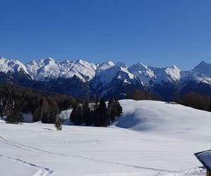eis, mountains, and panoramic image