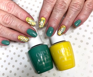 nails, gel manicure, and spei image