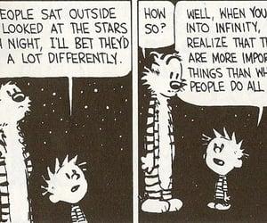 stars, infinity, and comic image