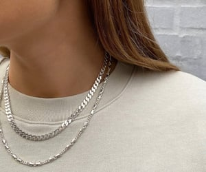 necklace, earrings, and fashion image