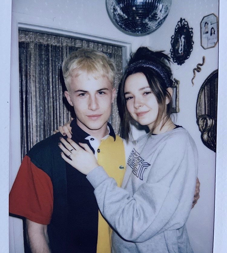 dylan minnette, lydia night, and icon image
