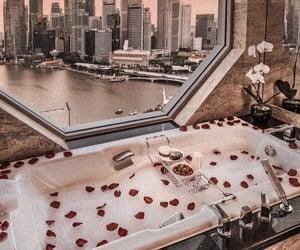 city, bath, and luxury image