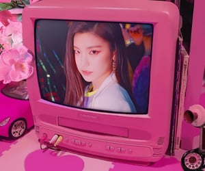 pink, edit, and cyber image
