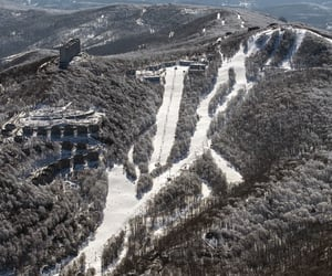 mountain, North Carolina, and ski image