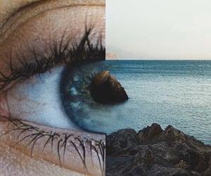 blue, tumblr, and eyes image