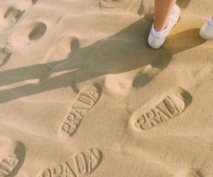 Prada, aesthetic, and beach image