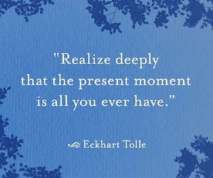 eckhart tolle, happy, and life image