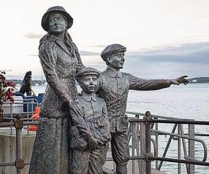 Cobh, cork, and sculpture image