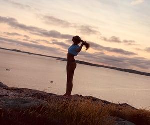 bikini, girl, and love image