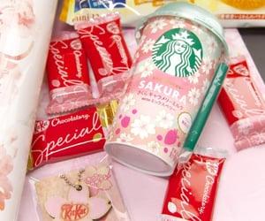cofee, drink, and sakura image
