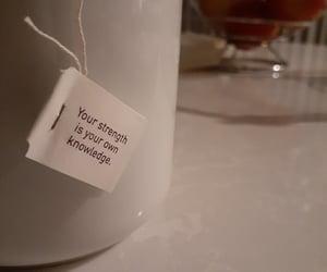 night, shades, and tea image