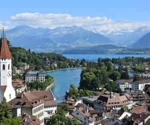 switzerland, travel agency, and holiday packages image