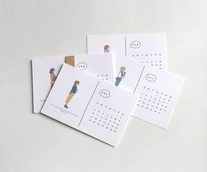 art, calendar, and deco image