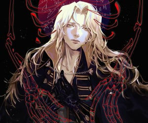 castlevania and alucard tepes image