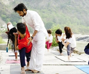 yoga, health, and 500 hr yoga ttc in india image