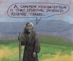 journey, spiritual, and travel image