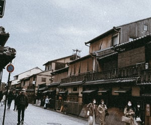 gion, japan, and 街並み image