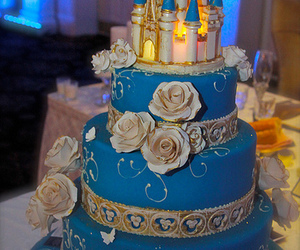 cake, cinderella, and disney image