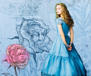 alice, disney, and Mia Wasikowska image