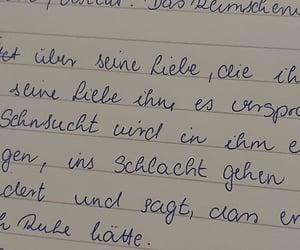german, handwriting, and study image