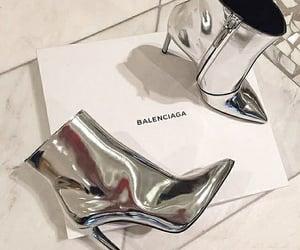 shoes, Balenciaga, and heels image