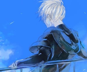 anime, bule, and kaneki image