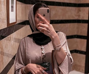 beauty, hijab, and voile image