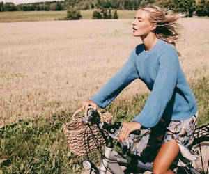 bike, fashion, and summertime image