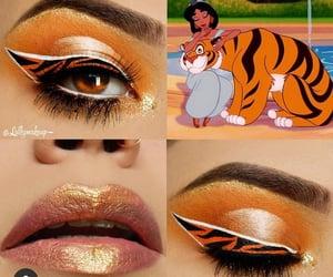 disney, makeup, and tiger image