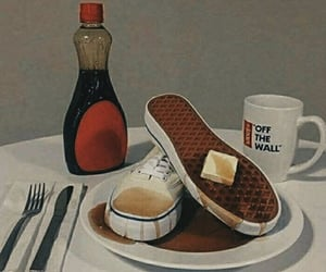 vans, syrup, and waffles image