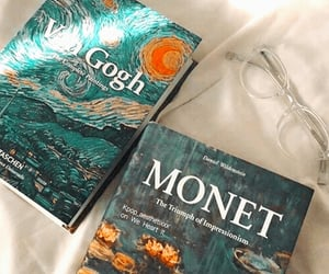book, art, and van gogh image