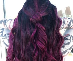 beautifull, hair styles, and red hair image