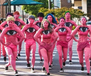 performance, street, and bodypaint image